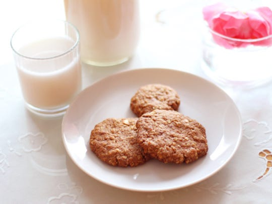 Oatmeal cookies and almond milk, anyone?