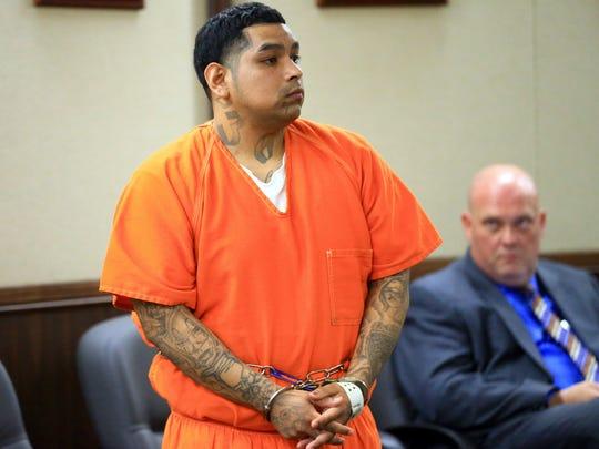 David Davila attends his pre-trial hearing in the fatal