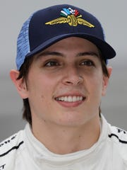 Gabby Chaves, piloto colombiano de Indy Car.