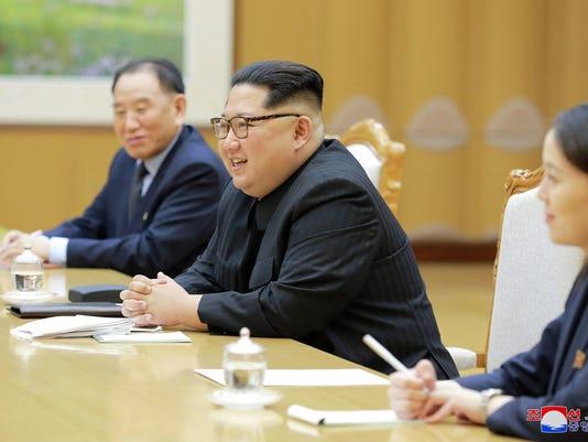 Kim Jong Un,Kim Yo Jong,Kim Yong Chol