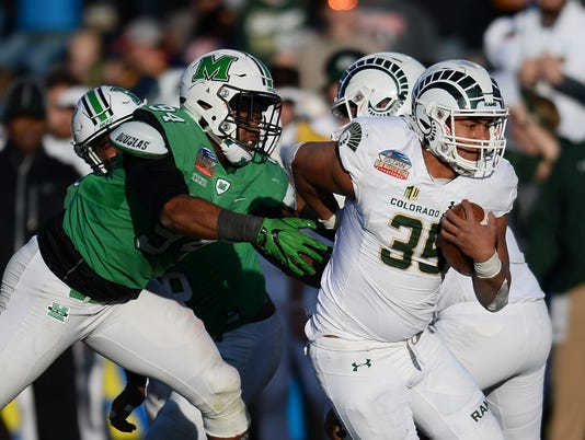 NCAA Football:  New Mexico Bowl-Marshall vs Colorado State