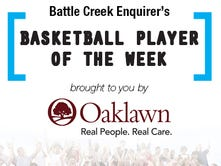 Winner of Enquirer City Basketball Player of the Week is...?