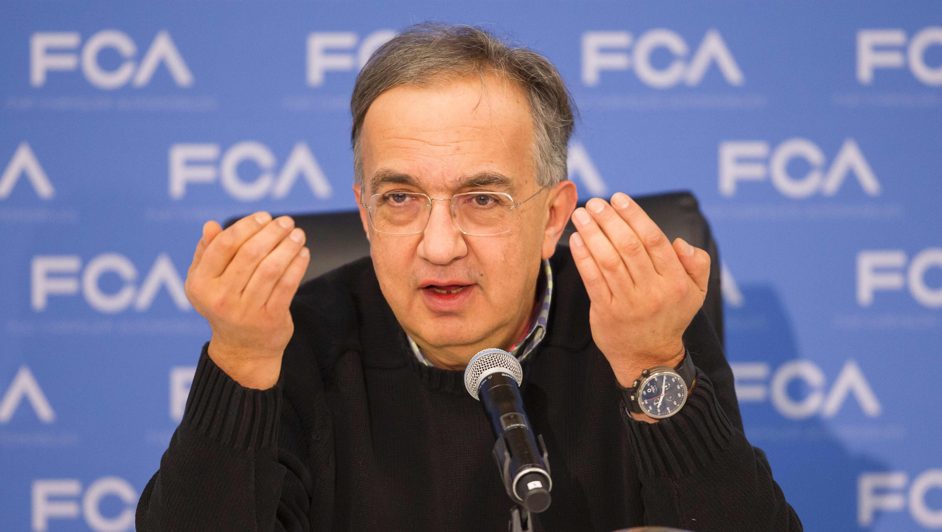 Feds Questioned Marchionne In UAW Scandal
