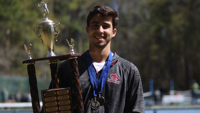 Chiles senior Josh Macri captured his second straight tennis city title with a win over Leon's Kellen Long during finals Friday at Maclay.