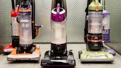 Vacuum cleaners in Reviewed.com labs