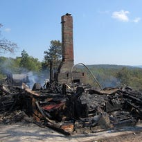 Fire wipes out former Buzzard Roost Inn