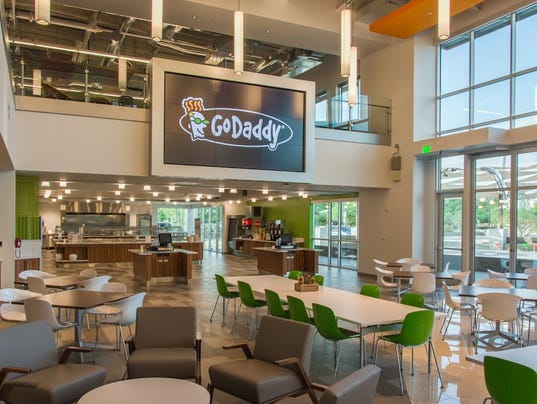 3 cool perks for workers at GoDaddy's new Tempe office