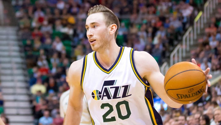 It's another baby girl for Gordon Hayward