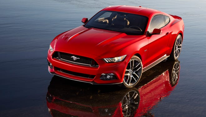 The all-new 2015 Ford Mustang for the pony car's 50th birthday.