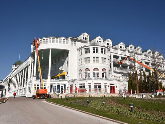 Grand Hotel opens