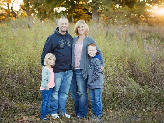 Cherie Eastman and family