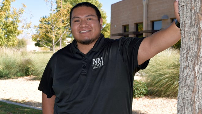 Michael Ray, director of New Mexico State University's American Indian Programs.