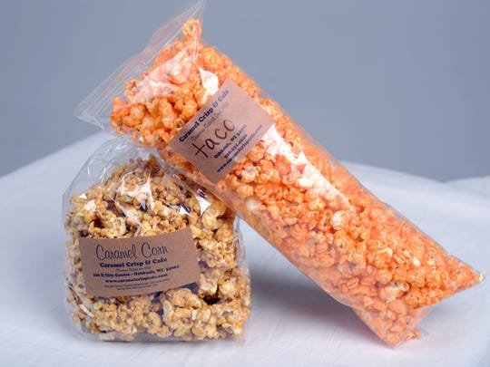 Caramel Crisp Cafe in Oshkosh is no stranger to popcorn, having served the snack since 1933.