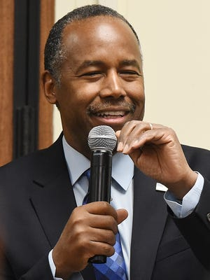 U.S. Housing and Urban Development Secretary Ben Carson.