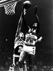 Larry Wright, who won an NBA Championship with the Washington Bullets, will be inducted to the Louisiana Sports Hall of Fame in Natchitoches on Saturday.