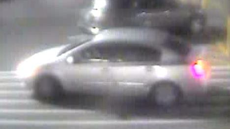The suspects wanted for recent auto burglaries in the Planet Fitness parking lot in Hendersonville drove this car.