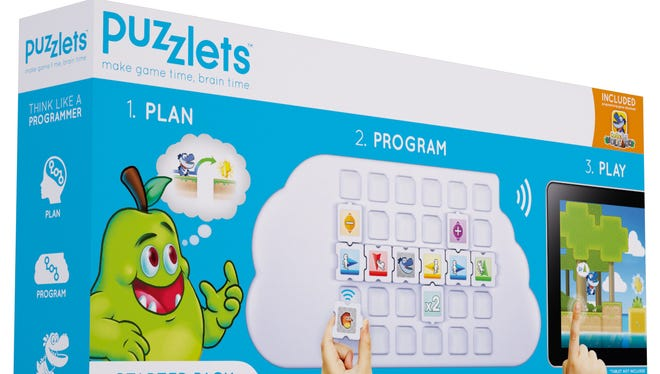 The educational toy Puzzlets.