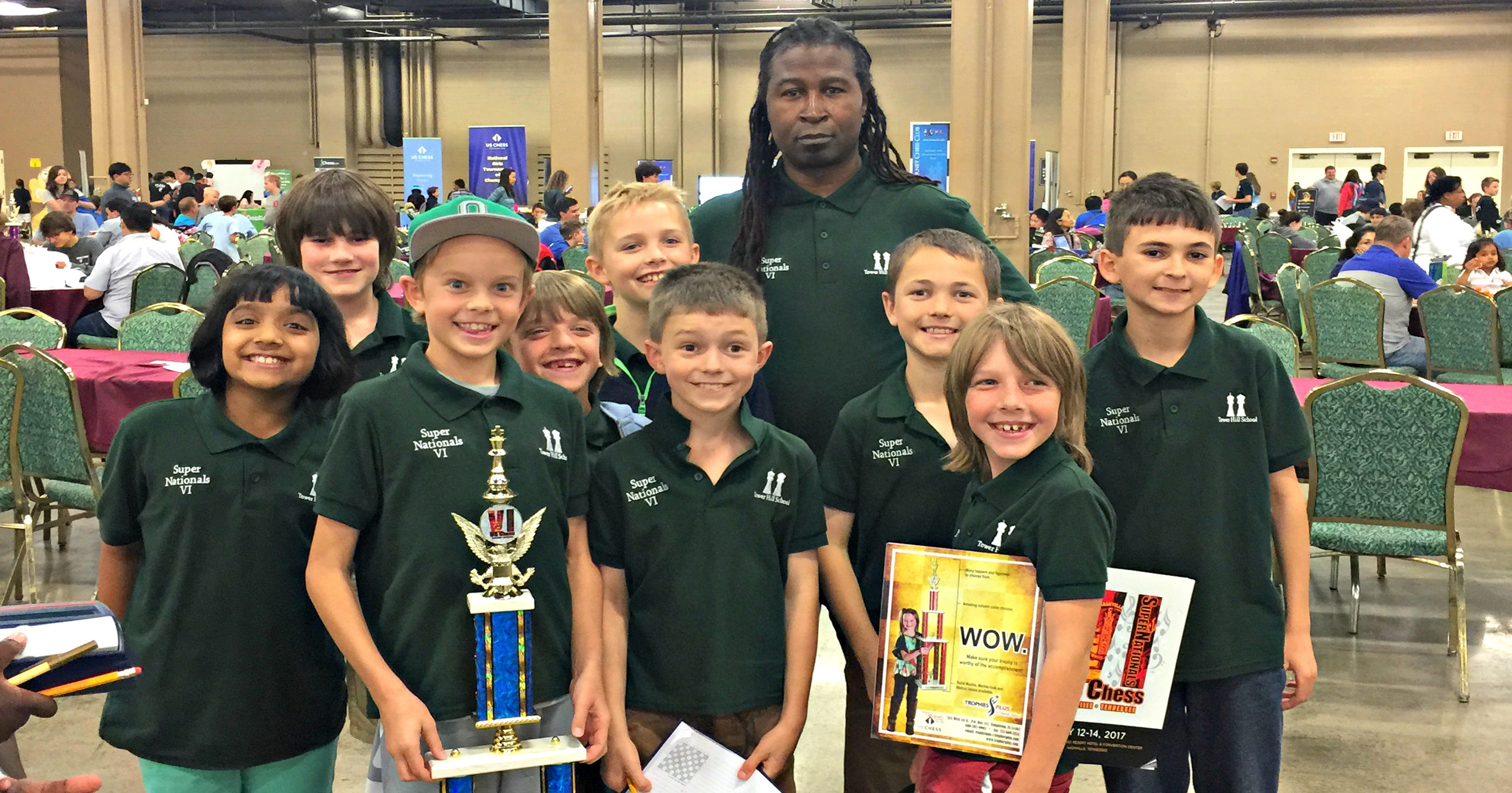 Chess coach teaches kids patience, visual imagery
