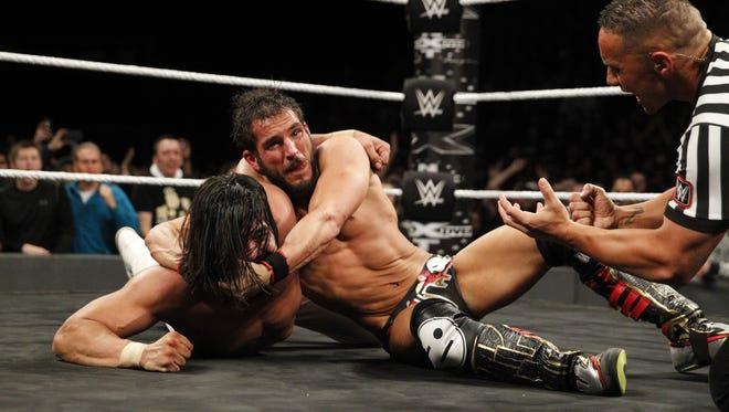 WWE NXT wrestler Johnny Gargano in the ring.