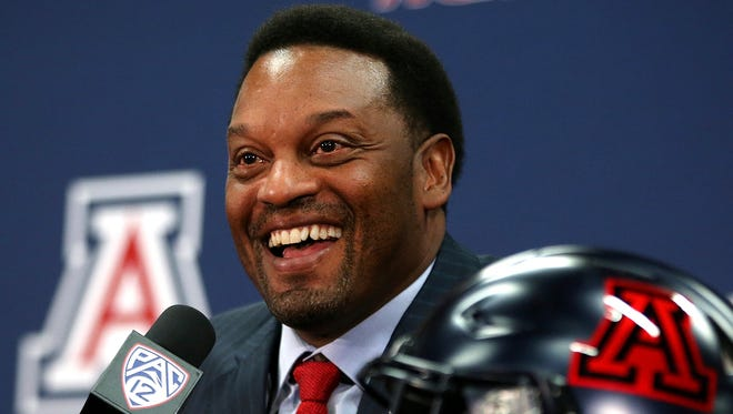 Kevin Sumlin's hire at Arizona is getting good early reviews.