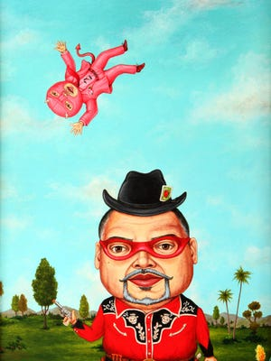 """""""Small Guns"""" (2014) by Robert Palacios is featured in """"Take 10"""" at the Mesa Contemporary Arts Museum."""