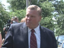 James Metts leaves a court hearing in Columbia on July 1, 2014.