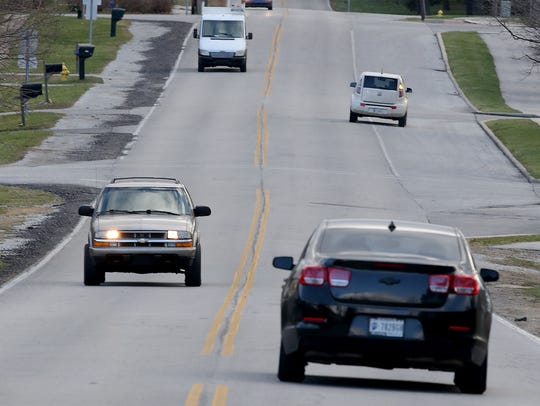 Guilford Road will be reconstructed from City Center