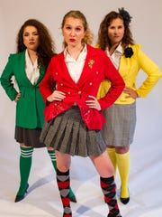 The Heathers (Chloe Tsai, Athena Kelley and Cat Westley)