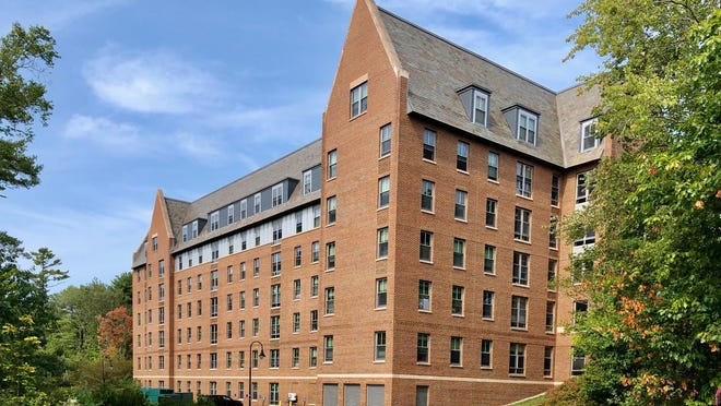 The Gables apartments complex is the second COVID-19 cluster identified at the University of New Hampshire in Durham.