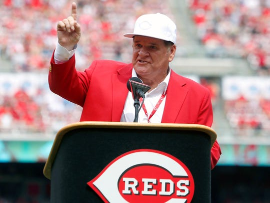 Pete Rose might be banned from baseball, but that doesn't