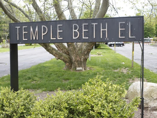 Temple Beth El at 415 Viola Road in Ramapo has been