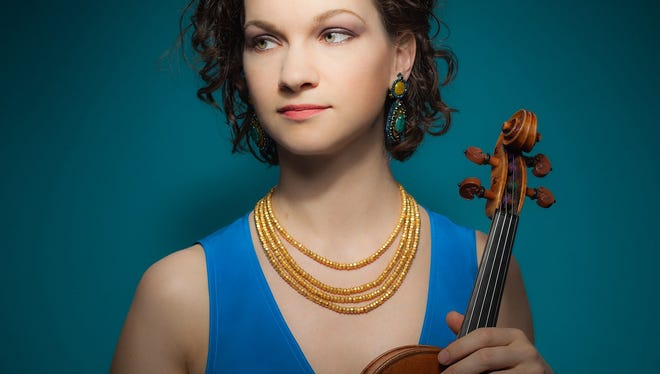 Violinist Hilary Hahn, who will be the soloist for Prokofiev's First Violin Concerto in Oct. 2016