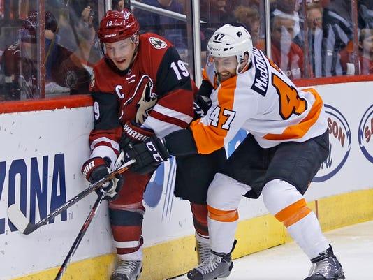 Coyotes vs. Flyers