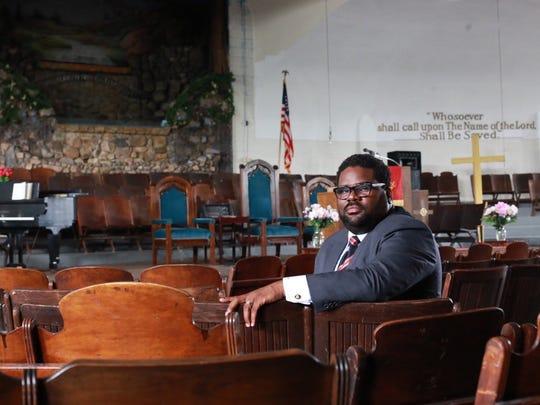 Senior Pastor Charles E. Williams II of Historic King