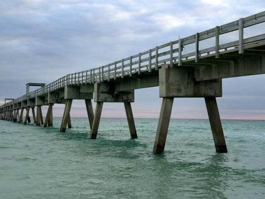 Operators of the Navarre Beach Fishing Pier met a Friday