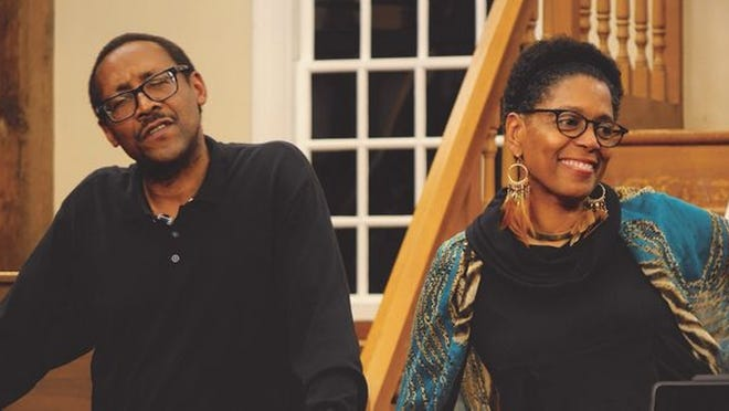 """Jim and Robin Miller present part one of Black Lives Matter, a 5-week series of consciousness-raising events and conversations on Saturday night at the Cotuit Center for the Arts. The event will include """"Restoring My African Soul,"""" a multi-media presentation addressing an artist's struggle from Black shame to African American pride through art and poetry."""