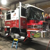 Stolen fire truck stopped after wild chase in Northern California