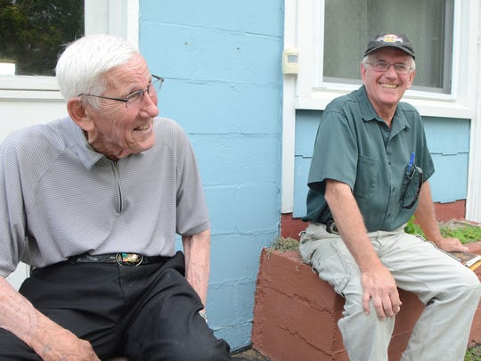 Russell Taft served in World War II and his son Tom