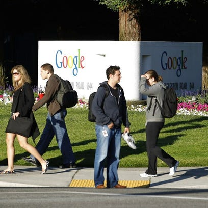 Google headquarters in Mountain View, Calif.