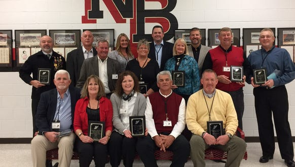 North Buncombe held an athletic hall of fame induction