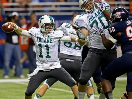 Tulane UTSA Football