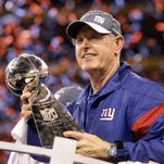 Tom Coughlin won two Super Bowls as head coach of the New York Giants.