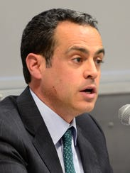 Matt Dunne, a Democratic candidate for governor, pictured