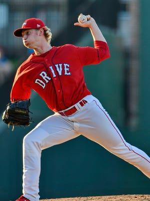Logan Boyd returns to the Greenville rotation after setting a Drive record with 14 wins last season.