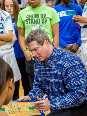 FGCU women's basketball coach Karl Smesko has made it clear to his mostly young players that they cannot overlook any ASUN foe in this backstretch. At 9-1, FGCU and Stetson are tied top the ASUN standings with just four games to go.