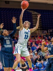 To advance to Wednesday's ASUN tournament semifinals, FGCU senior point guard Jordin Alexander and company must get past UNF for the third time this season during Friday night's home first-round matchup.