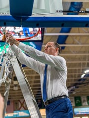 FGCU coach Joe Dooley led the Eagles to two ASUN tournament titles and NCAA tournament berths.