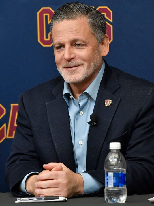 d79567fd3220 Cleveland Cavaliers owner Dan Gilbert said he got voicemails that were vile  and disgusting toward LeBron James. (Photo  David Richard-USA TODAY Sports)