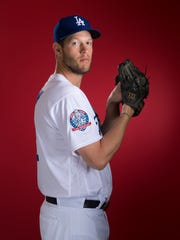 Los Angeles Dodgers ace Clayton Kershaw made 20 starts