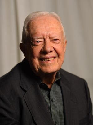 President Jimmy Carter on March 26, 2018, in New York.